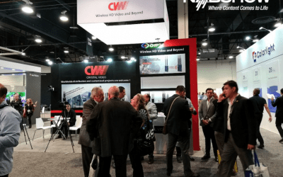 CVW Beamlink-Quad 4-Camera Wireless Transmission System Made An Appearance At 2018 Nab Show