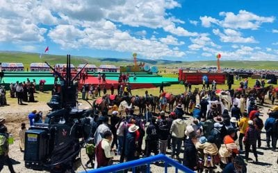 To Tibet for The Horse Race with BeamLink-Ultimate